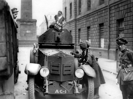 Armoured car Irish civil war