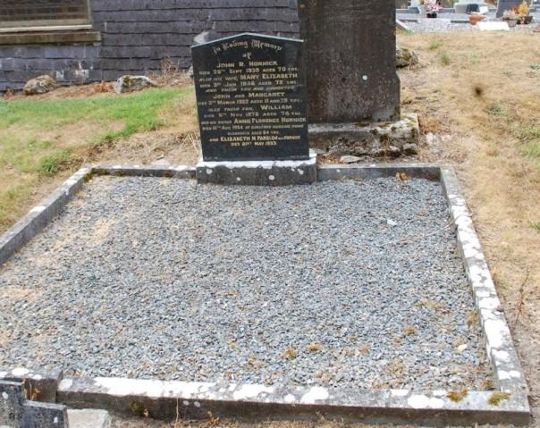 hornick grave