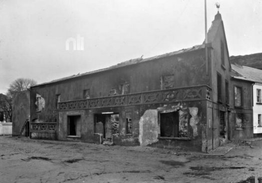 burnt house ballyhack Wexford, Civil war