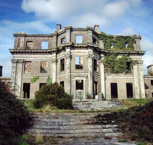 Castleboro house ruins